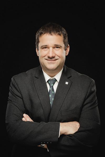 Pascal Grégoire, nouvellement nommé à titre de directeur général de La Fondation et du SRDD.