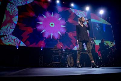 La chanteuse Amé a interprété la chanson
