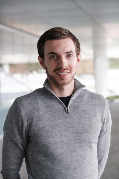 L'étudiant-chercheur Caleb Pagé.