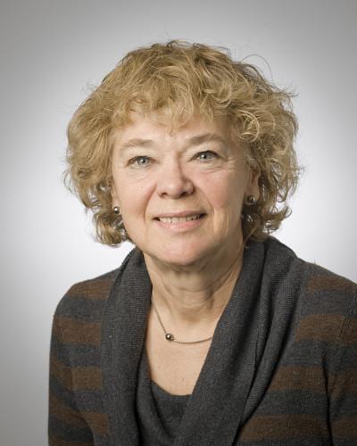 Hélène Cajolet-Laganière, professeure au Département des lettres et communications de l'Université de Sherbrooke