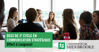 Des spécialistes reconnus, actifs dans le domaine de la communication, donneront ces cours au Campus de Longueuil cet automne.