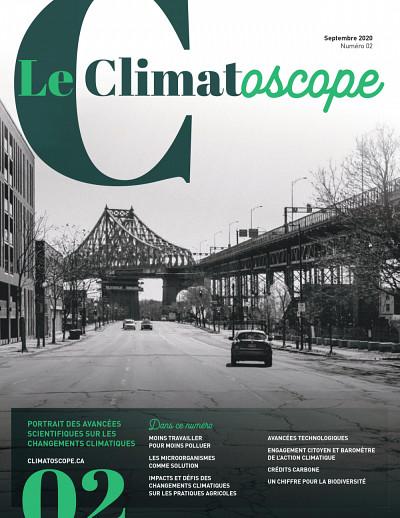 Le Climatoscope, sous la direction d'Annie Chaloux, numéro 02, 2020, 126 p.
