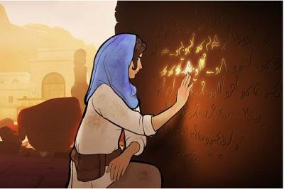 Heaven's Vault s'éloigne complètement des visions de l'archéologie proposée par Lara Croft.