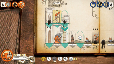 Le jeu Inkulinati, de Yaza Games, propose un visuel particulier.