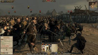 Gilles Roy s'appuie notamment sur le jeu Total War.