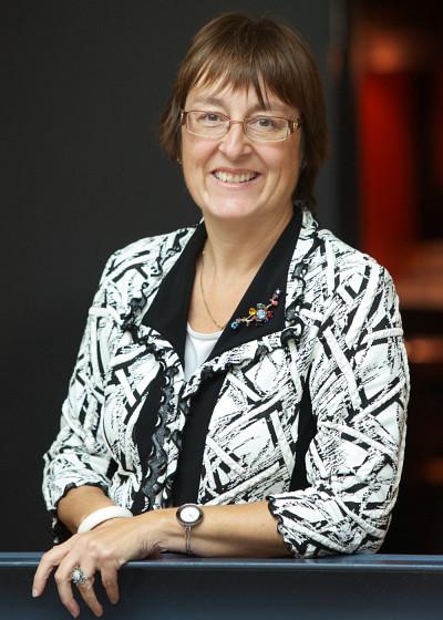 Anne Mathieu, vice-doyenne à l'enseignement et aux affaires étudiantes de la Faculté d'administration de l'Université de Sherbrooke.
