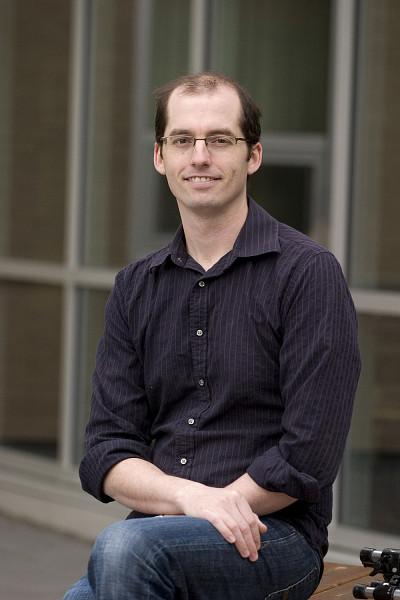 David Poulin, professeur à la Faculté des sciences de l'Université de Sherbrooke.