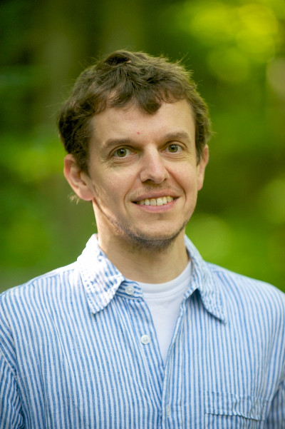 Jérôme Théau, professeur au Département de géomatique appliquée