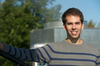 François Allard, récipiendaire du prix Acfas Ressources naturelles.
