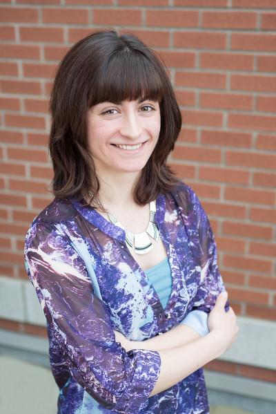Florence Aumont, étudiante au baccalauaréat en administration des affaires, concentration entrepreneuriat, de l'Université de Sherbrooke.