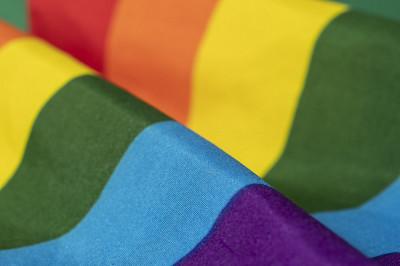 Fierté Montréal a fait don d'un drapeau LGBTQ+ dans le cadre de ce projet.