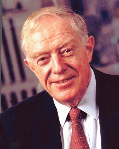 L'ingénieur et homme politique Roger Nicolet.
