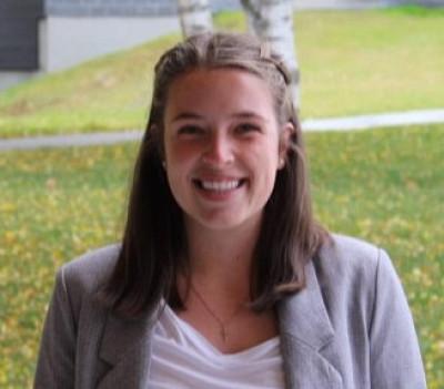 Jane Lajoie, l'une des récipiendaires des bourses d'excellence à l'admission de la Société des médecins de l'Université de Sherbrooke