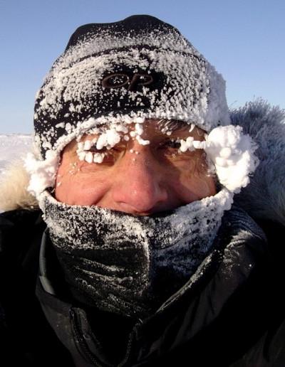 Professeur Alain Royer en Arctique
