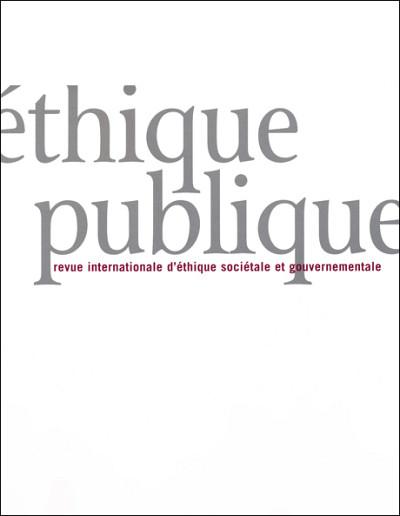 «Certification de l'éthique et enjeux éthiques de la certification», sous la direction des professeures Allison Marchildon et Marie-Claude Desjardins, Éthique publique, vol. 21, n° 1, 2019.