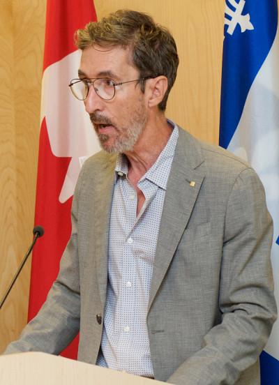 Dr François Couturier, directeur du projet à l'UdeS et responsable de l'appui au développement international en santé à l'Université de Sherbrooke
