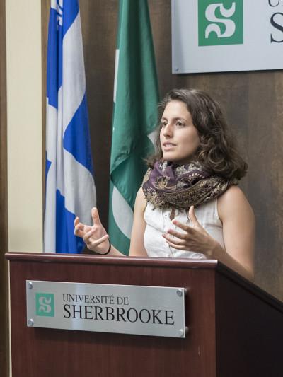 Vanessa Doyon-Bolduc, catégorie Personnalité 1er cycle.
