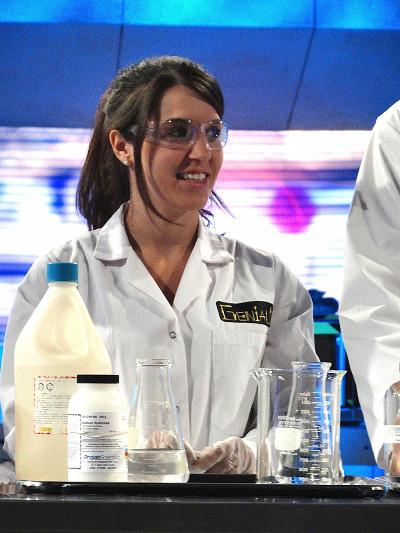 Panagiota Giannakouros étudiante en biologie.