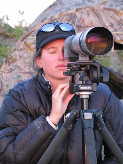 Noémie Laplante a réalisé son essai en collaborant avec un biologiste du ministère des Forêts, de la Faune et des Parcs.