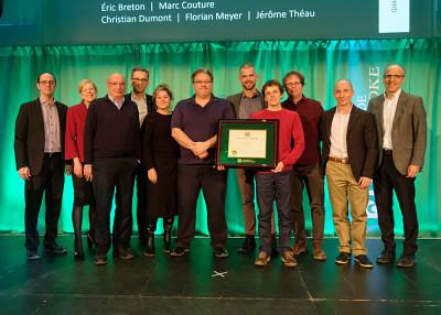 L'équipe Trajectus, lauréate de la Grande distinction en enseignement universitaire pour le volet équipe