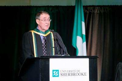 Le professeur Marc Dumas.