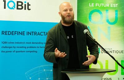 Andrew Fursman, président-directeur général de l'entreprise 1QBit
