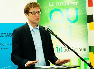 Le professeur Alexandre Blais, directeur scientifique à l'Institut quantique