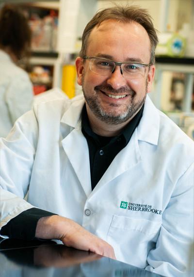 Professeur François-Michel Boisvert, directeur scientifique du nouvel Institut de recherche sur le cancer de l'Université de Sherbrooke (IRCUS).