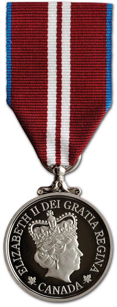 La médaille du jubilé de diamant de la reine Elizabeth II permet de reconnaître les contributions et réalisations importantes de Canadiennes et de Canadiens.