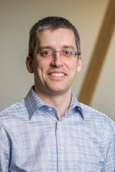 Éric Plourde, professeur à la Faculté de génie