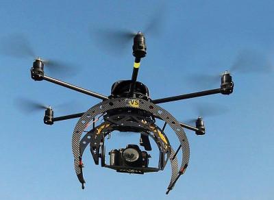 Ce type de drone se baladera au-dessus du Campus principal, du Campus de la santé et du Parc innovation de l'UdeS.