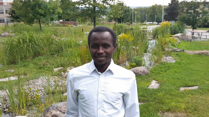 Ousmane Ahmat Hisseine, doctorant en génie civil