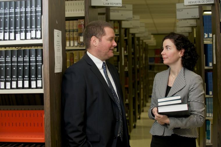 Simon Roy et Marie-Pierre Robert