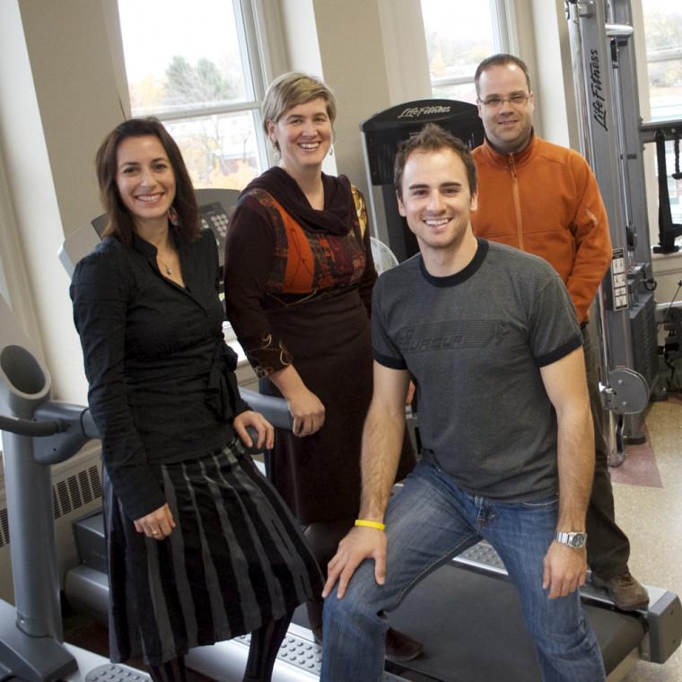 Eléonore Riesco, Isabelle Dionne, Mathieu Maltais et Martin Brochu ont pris part au projet de recherche.