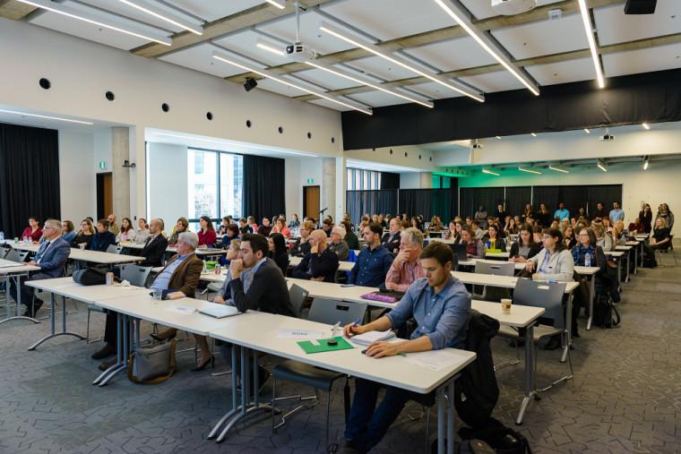 Le lancement de la chaire s'est déroulé dans le cadre de la Journée de la recherche Chantal-Caron 2018 - Approches innovantes de formation en sciences infirmières qui s'est tenue à Longueuil le 29 novembre dernier.