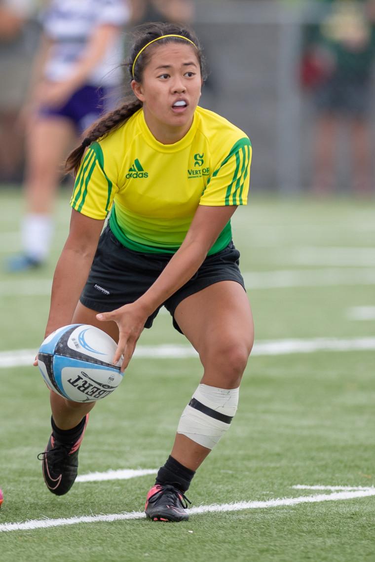 Les Gee-Gees d'Ottawa ont imposé leur loi dimanche en rugby féminin face au Vert & Or.