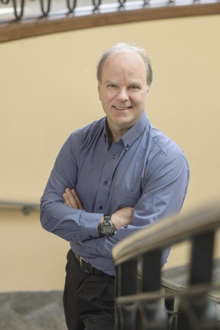 Michel Lafleur, diplômé et professeur à l'École de gestion