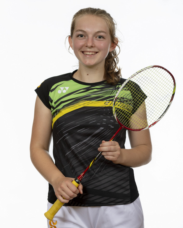 L'étudiante-athlète de troisième année du Vert & Or, Florence Gagnon.