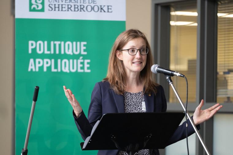 La professeure Annie Chaloux est directrice de la revue Le Climatoscope.