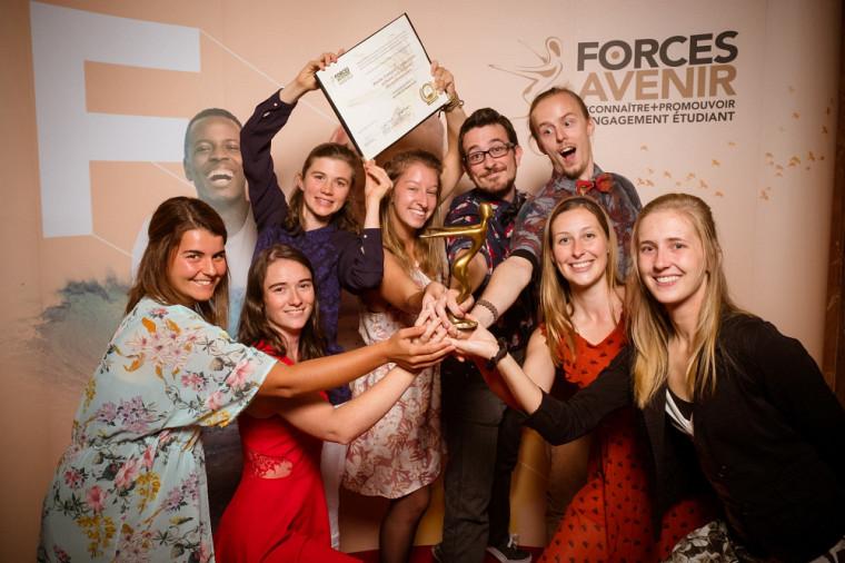 Ruche Campus, lauréat dans la catégorie Environnement.