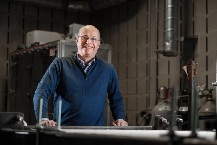 Richard Gagné, professeur en génie civil et génie du bâtiment.