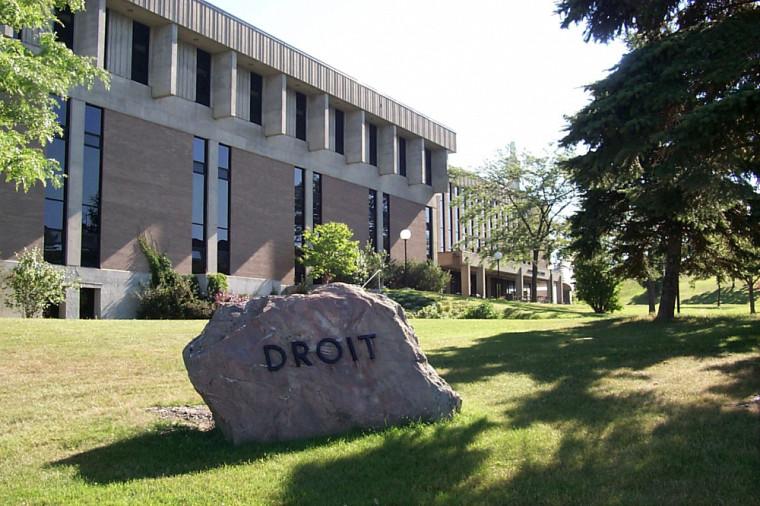 Faculté de droit, Campus principal