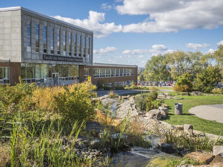 Faculté des lettres et sciences humaines, Campus principal