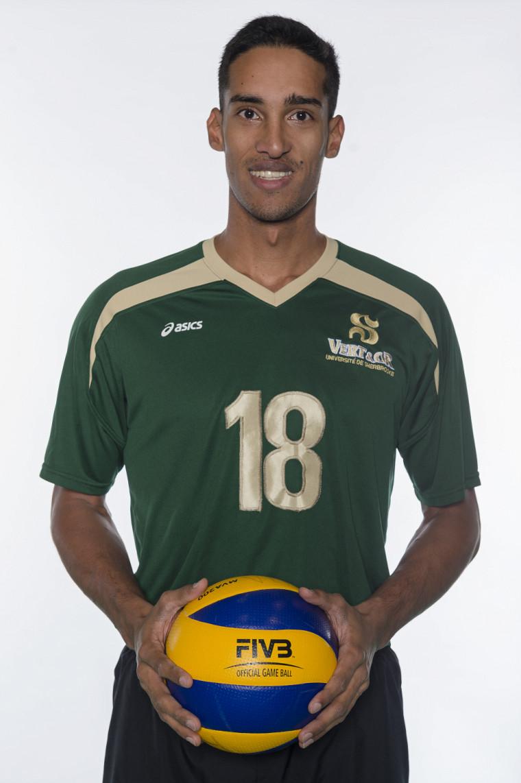 Le volleyeur recrue Julien Talbot.