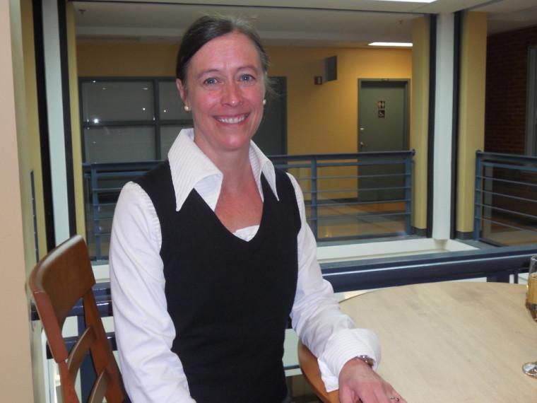 La doctorante Lise Godbout.