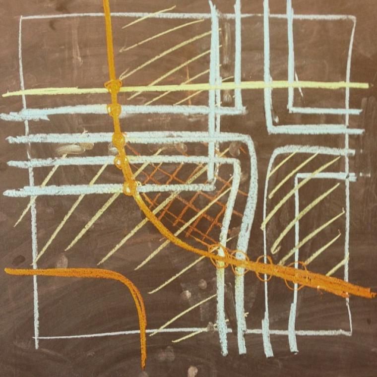 Le noeud en 8 — que connaissent les adeptes de l'escalade! — donne lieu à un espace de dimension trois dont le bord est un tore (un beigne) et ces courbes nous donnent les invariants de l'homologie de Heegard Floer qui sont associés à cet espace.