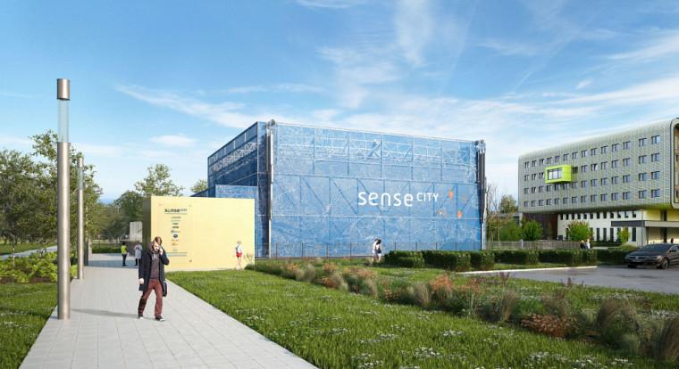 Sense-city est unéquipement remarquablede l'Université Gustave Eiffel, géré par le LISIS/COSYS.