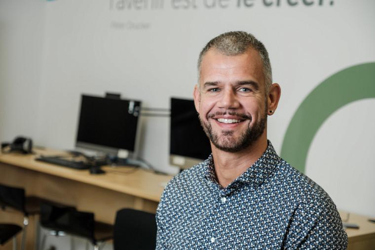 Florian Meyer, professeur à la Faculté d'éducation