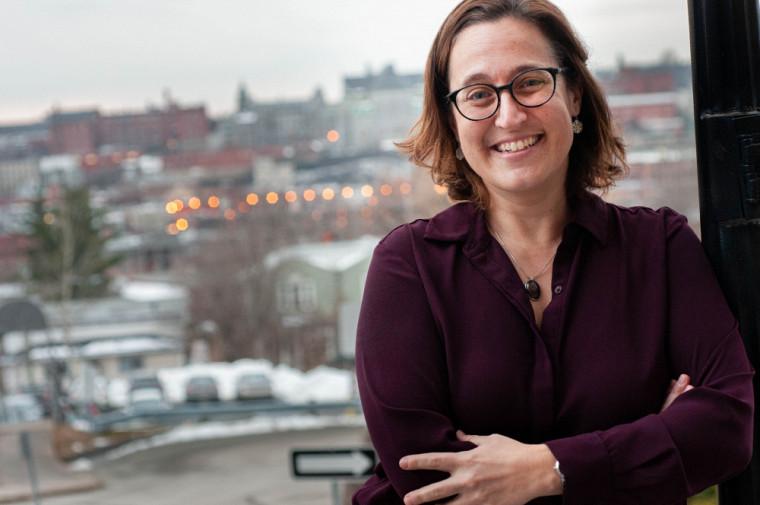 La professeure Geneviève Petit