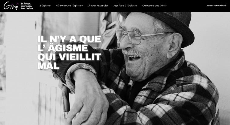 Accueil du site La Grande interaction pour rompre avec l'âgisme.